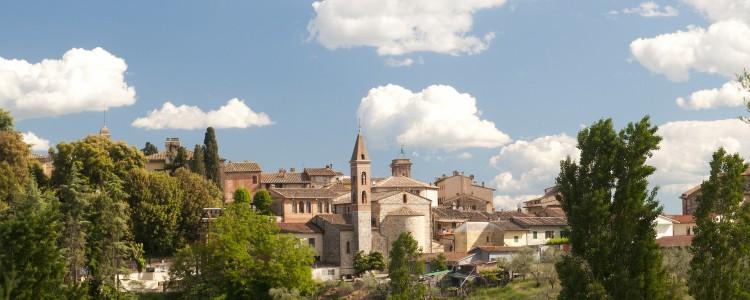 Ville italienne de Castelnuovo-Berardenga