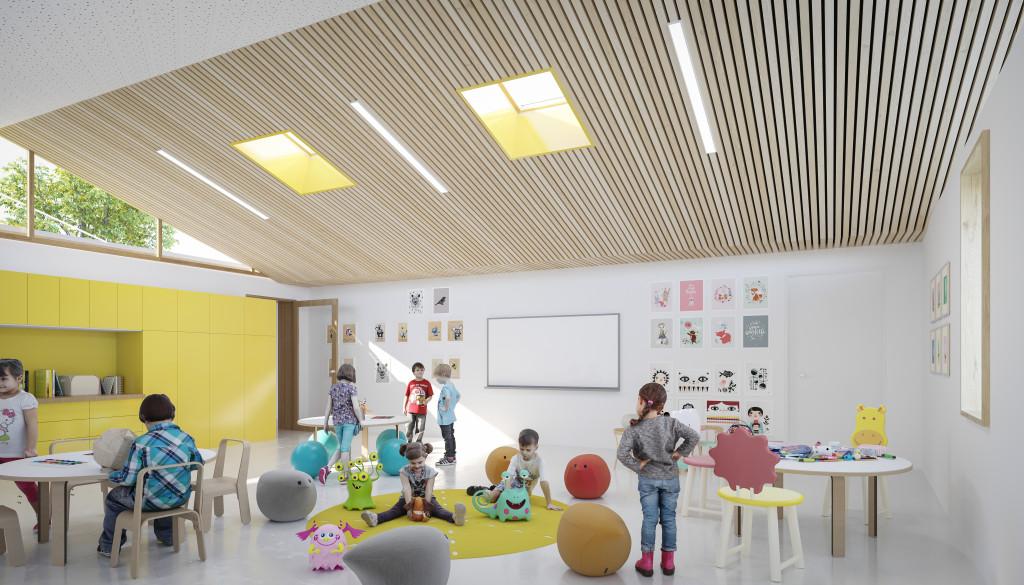 Salle classe maternelle